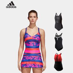 【多款可选】阿迪达斯 女士连体游泳衣 99元包邮(399-300元券)