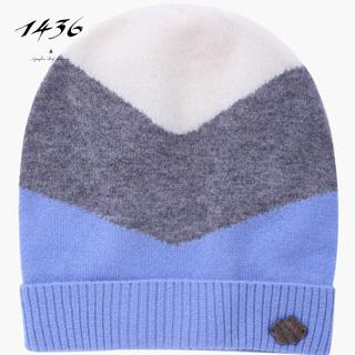 1436 зимний осенний новинка небольшой кашемир жаккард ребенок шляпа, цена 11672 руб