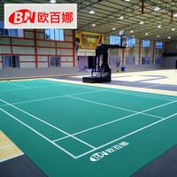 Ou Bina бадминтон резиновый настольный теннис место резиновые коврики баскетбольный зал коврик крытый ПВХ пластик спорт панель