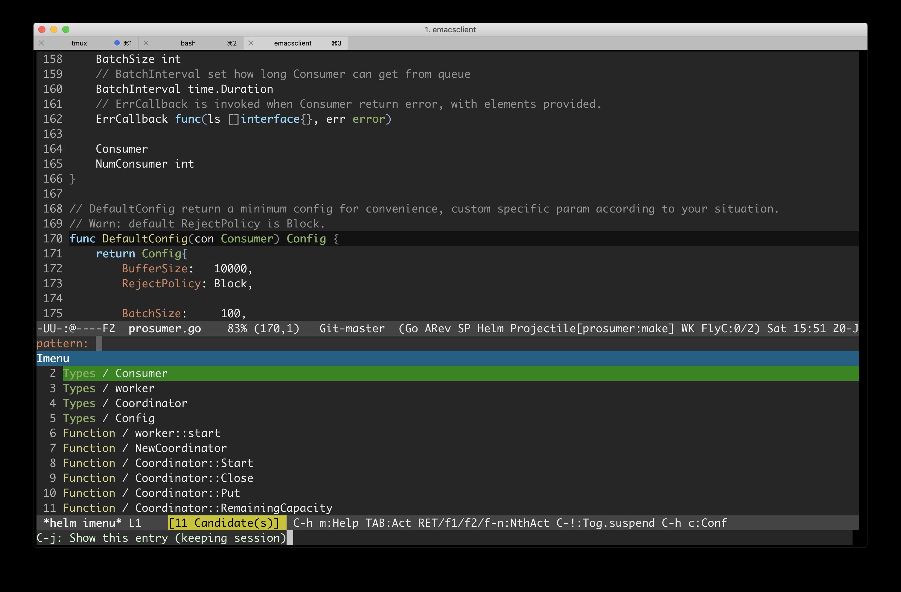 Emacs Go 开发环境