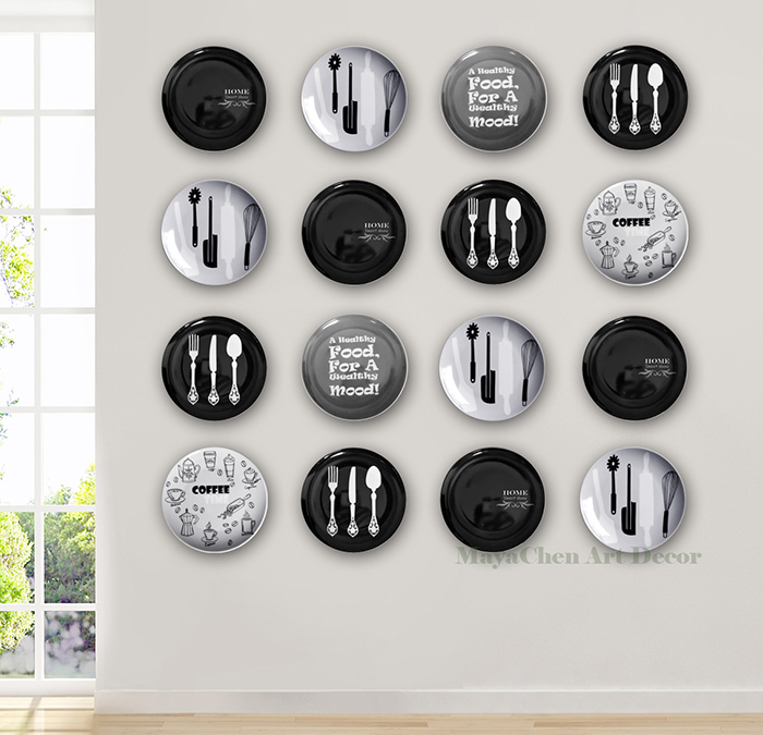 Dining Room Wall Decorative Art Plate