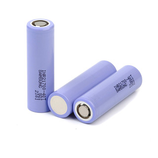 3.7V power lithium battery Samsung 40T 30T 35A discharge large power discharge 4000mah 21700