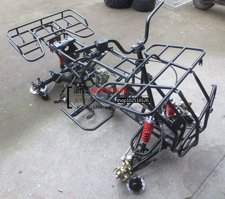 DIY four-wheeled ATV accessories 150-250 big bull frame assembly ...