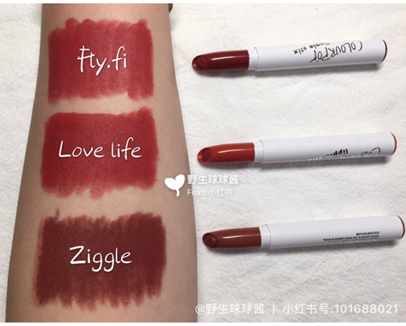 colourpop lippie stix 唇笔 唇膏笔 ziggie/goldie/love life