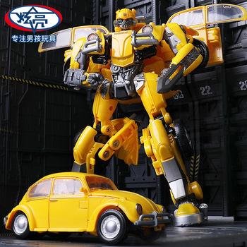 Деформировать игрушка алмаз 3 шмель фильм подлинный сплав автомобиль робот модель 4 мальчик 6-9 лет солдат, цена 1106 руб