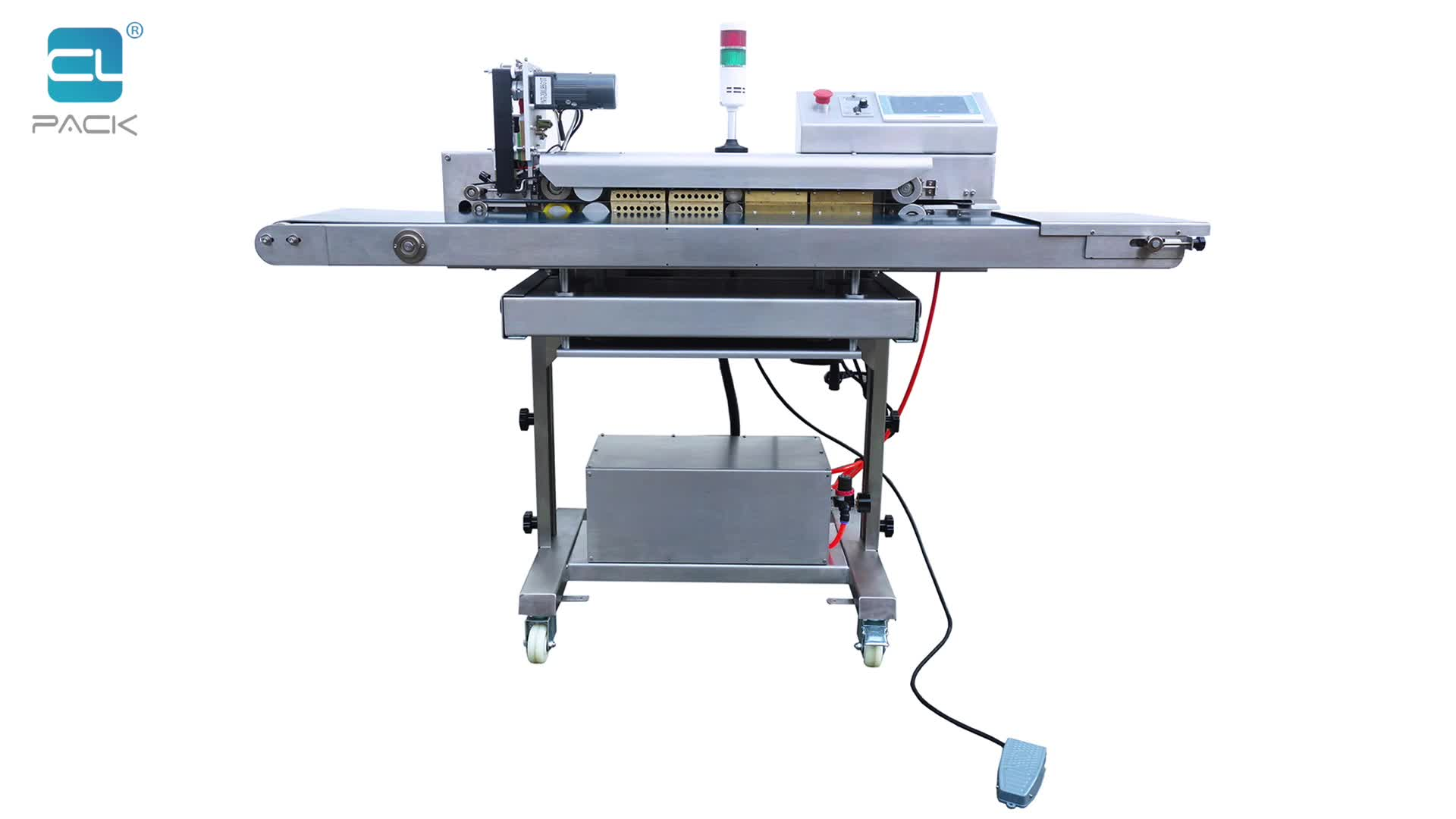 FRK-1420WD/SC Touch Panel Computer Controlled High Standard Continuous Sealing Machine Band Sealer CLPACK