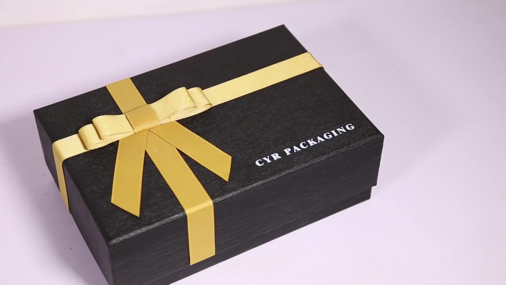Custom luxury  chocolate paper box package for gift set