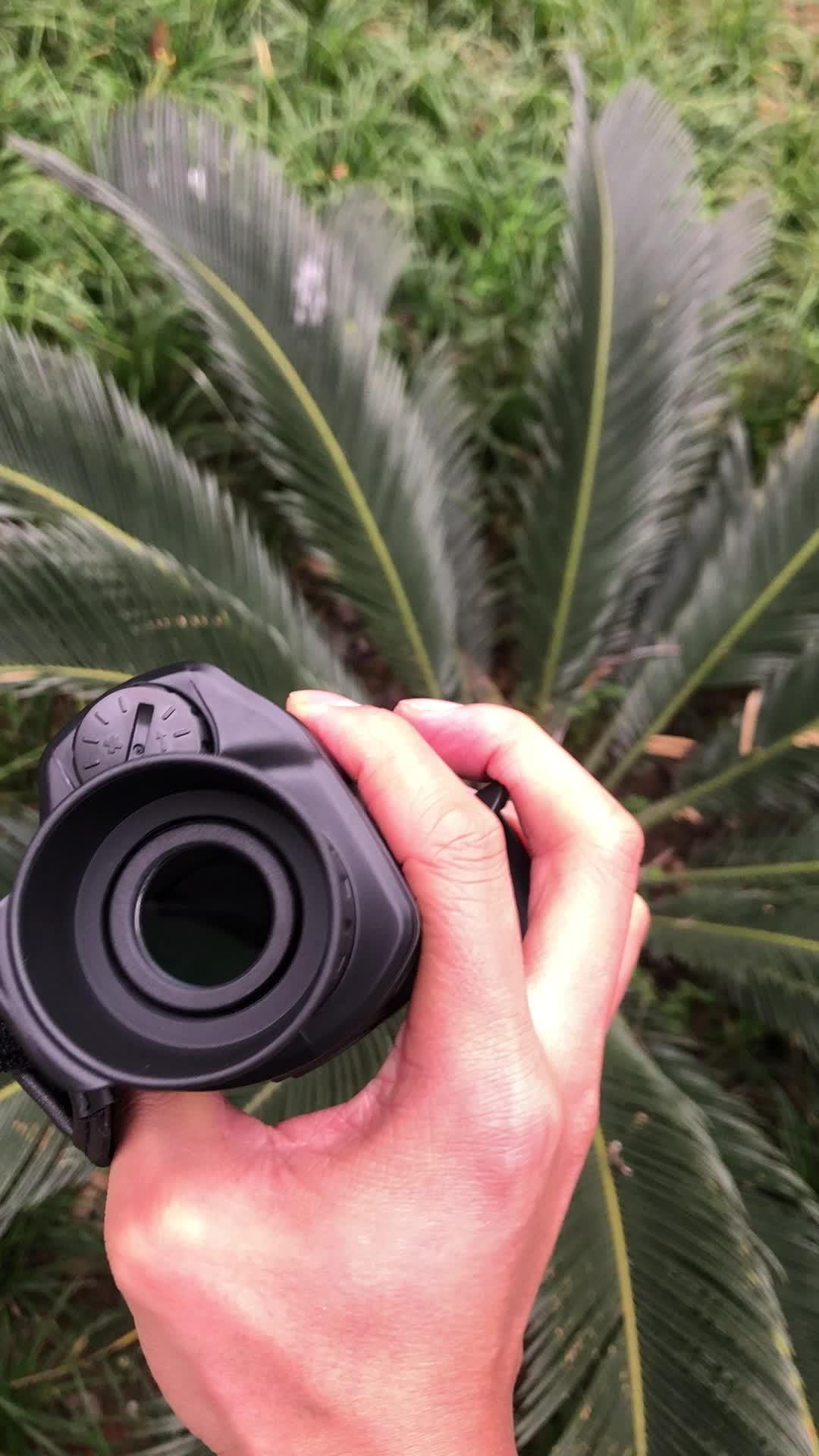 Gece Görüş Monoküler 5X40 Gece Görüş Kızılötesi IR Kamera HD Dijital Görüş Kapsamı Kayıt Görüntü ve Video Oynatma fonksiyonu
