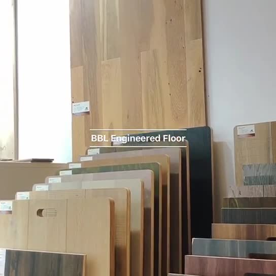 Patent negative ions real wood feeling engineered timber flooring