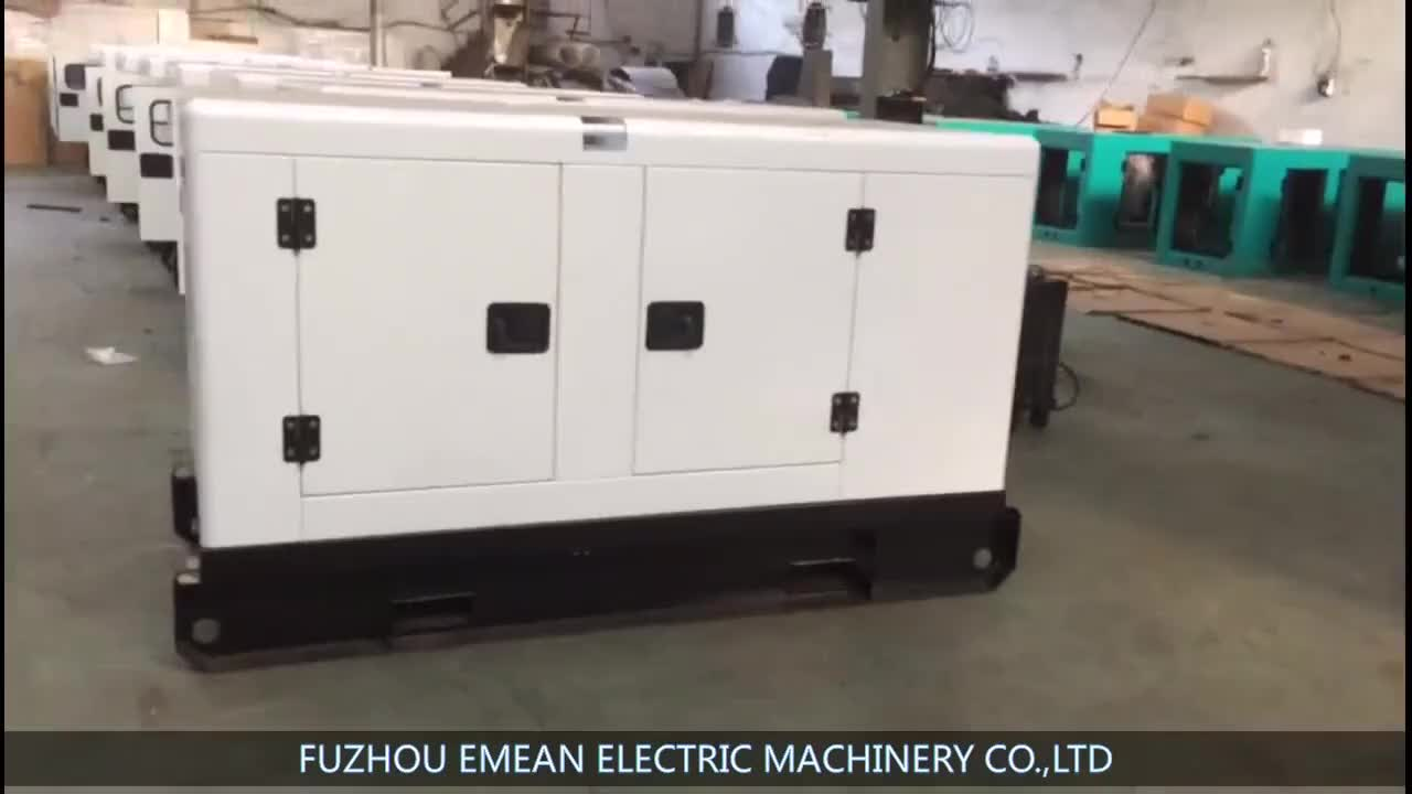 50kw / 62.5kva open / silent diesel generator set with famous brand engine 3phase 4 wire