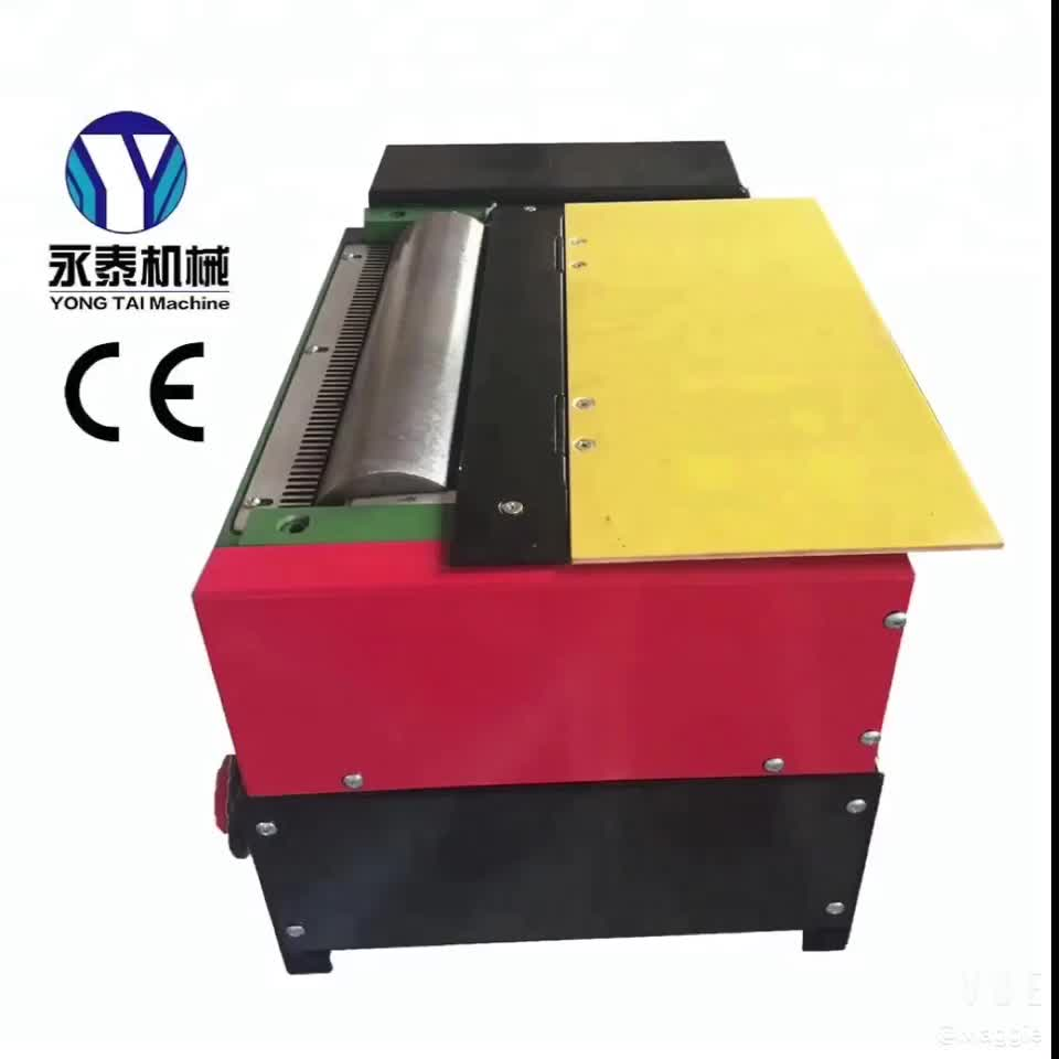 180mm hot melt roller machine without upper roller