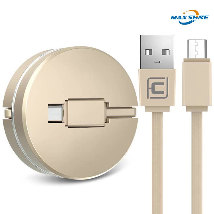 Multi USB retractable charging cable 3 in 1 multiple charger cord adapter connerctor for cellphone