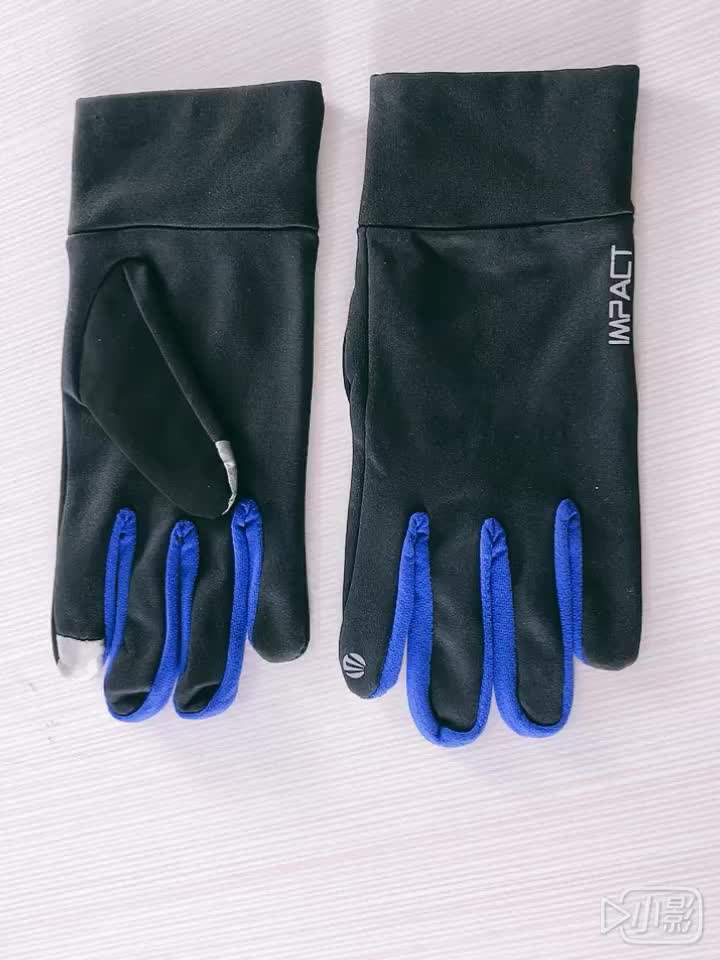 Custom breathable full finger cycling gloves Outdoor Protective Gloves Touchscreen Lightweight Running Gloves