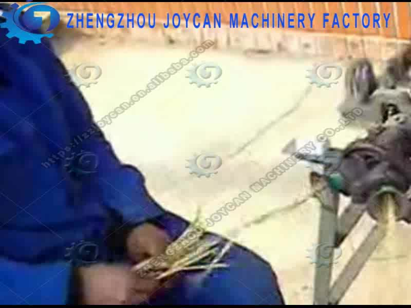 Joycan  manual straw stalk Rope Winding Machine Wheat Straw Rope Making Machine rice Straw Rope Plaiting Machine