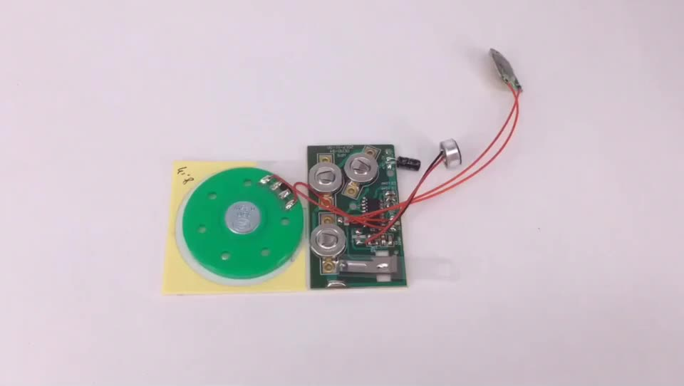 Greeting Card Recordable/Pre-recorded Sound Module