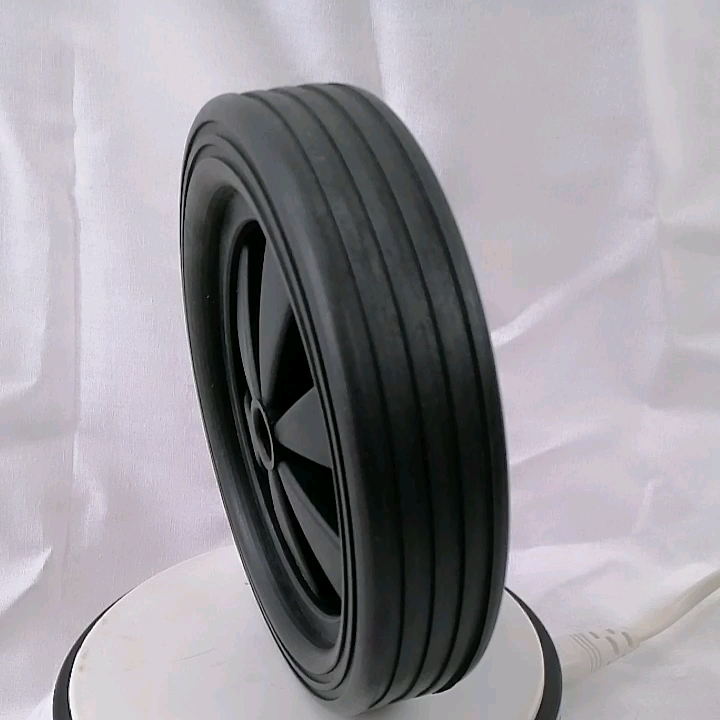 China solid rubber wheel 12.5 inch wheel for wheelbarrow