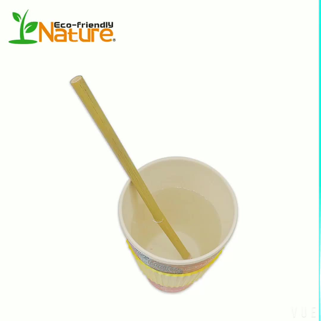Biodegradable Bamboo Straws  Drinking with bamboo straw cleaning brush