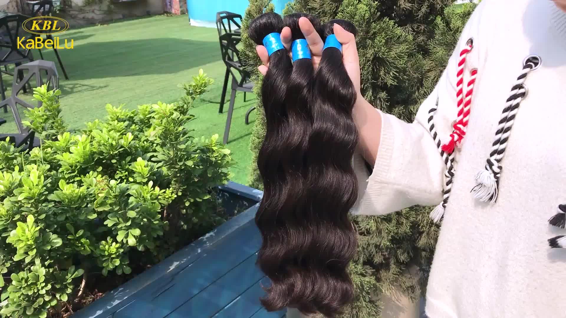 Kbl Wholesale Human Hair Extensions Tapeblowout Weave Hair