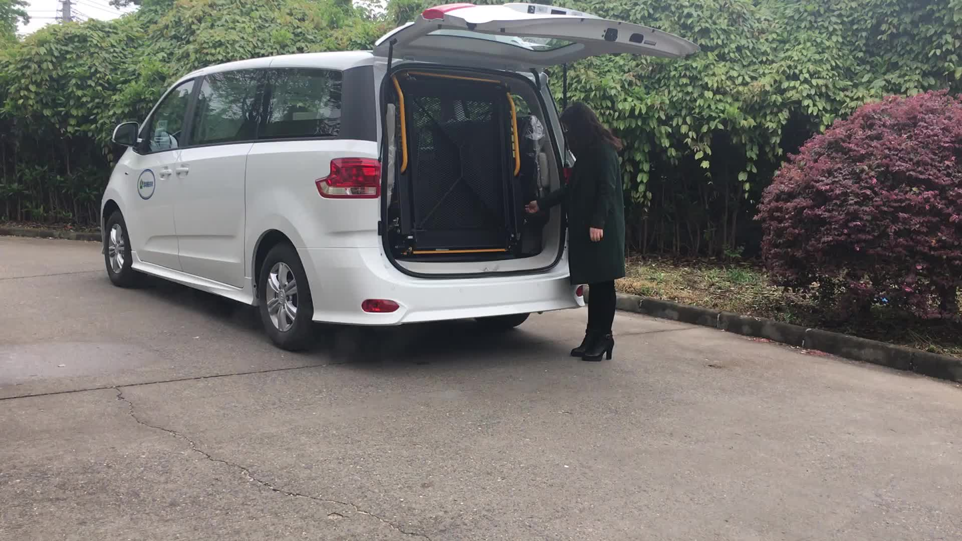 CE Hydraulic Wheelchair Lift for Van and Minivan Rear Door