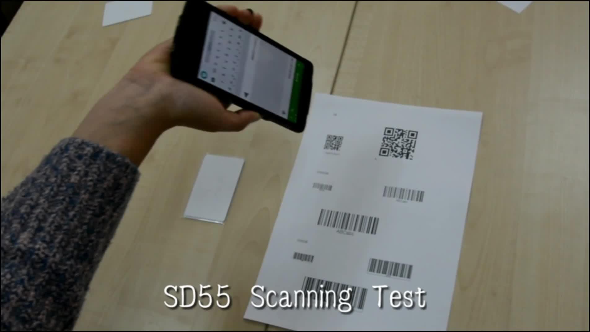 Speedata 1D 2D Máy Quét Mã Vạch Đầu Đọc NFC Đầu Đọc RFID PDA Sinh Trắc Học Dữ Liệu Bộ Sưu Tập
