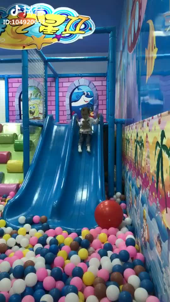 Candy Theme Children Amusement Funny Indoor Playground