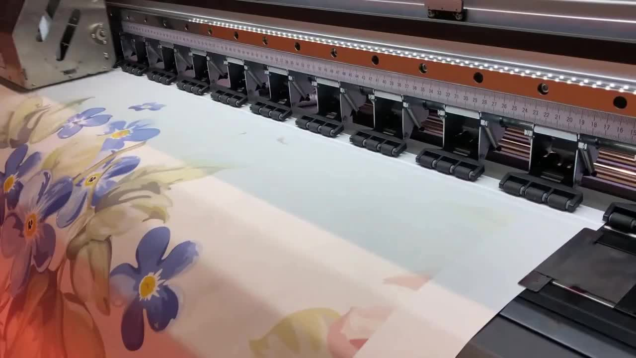 China Heavy Duty 1.8m 4720 i3200 Heads Dye Sublimation Inkjet Photo Printer Best Printer for Sublimation Ink