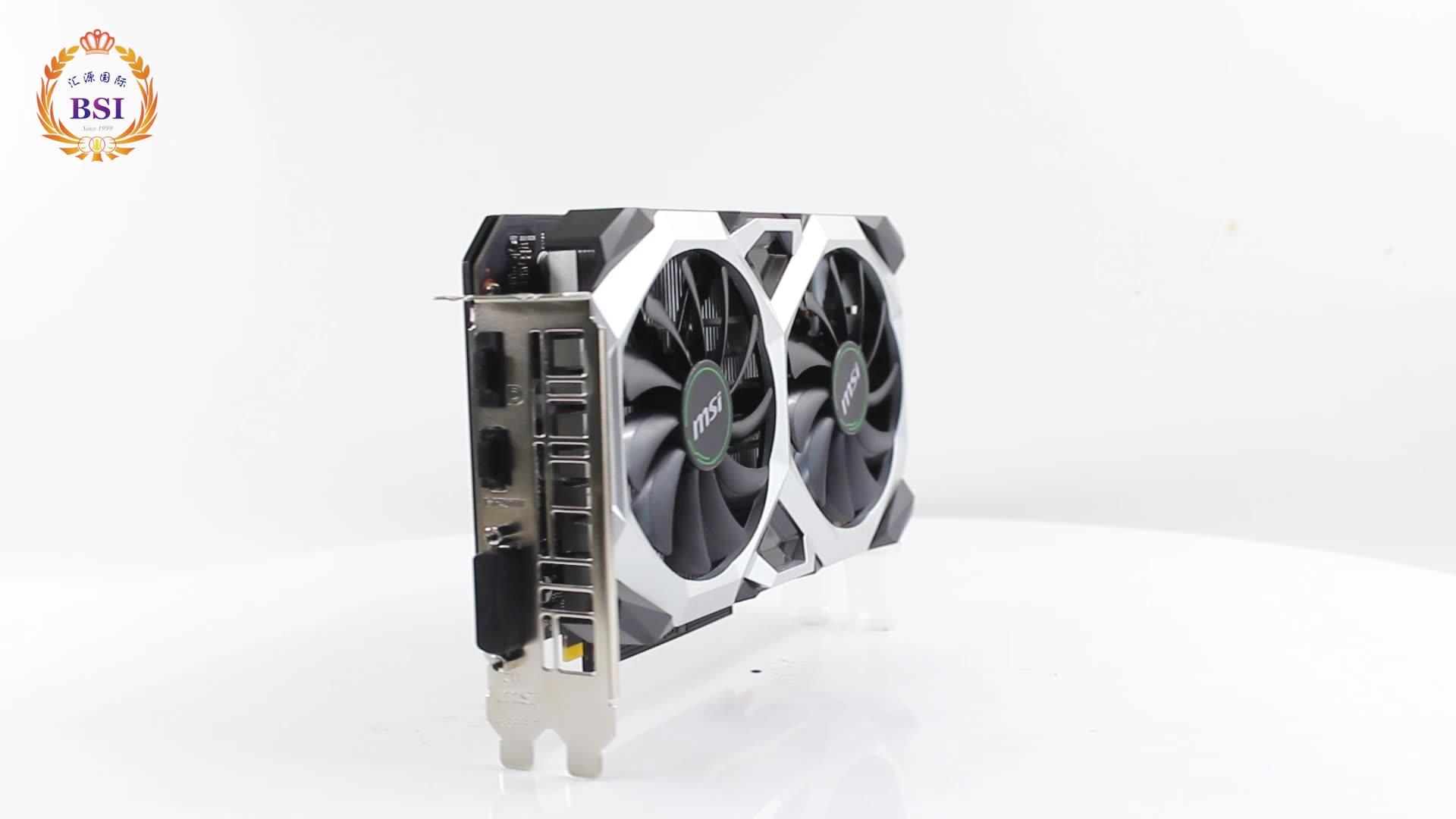 다채로운 지포스 GTX 1050 Ti 4GB GDDR5 14nm 128Bit GeForce 그래픽 카드 GPU 게임이나 ETH Zec 동전