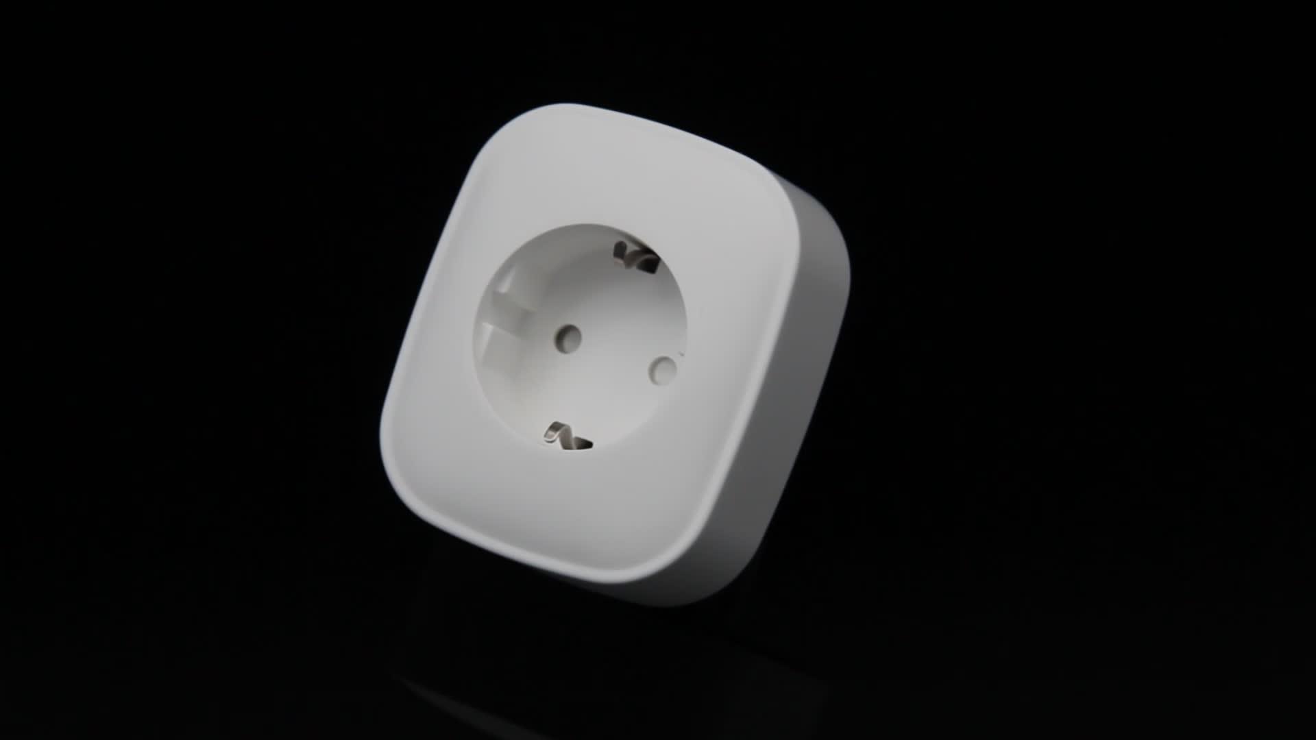Tuya WiFi inteligente Socket wireless smart plug compatible con Alexa y google