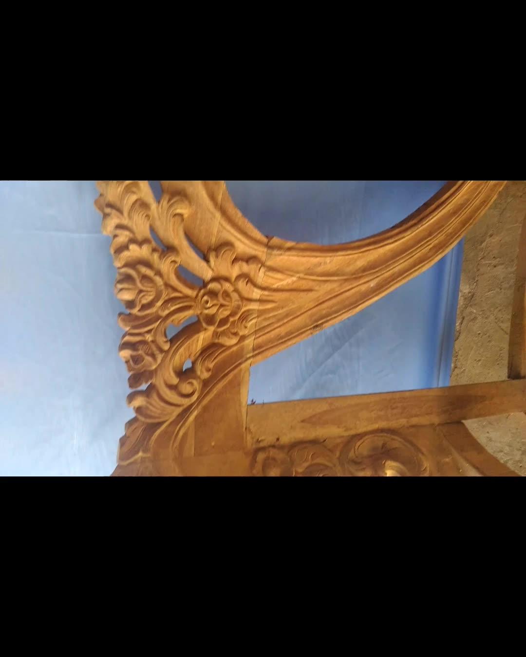 Teak Unfinished Furniture Frame Teak Wooden Sofa Living Room Set