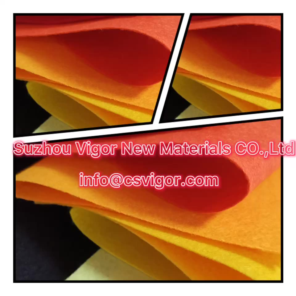 needle polyester craft felt sheets non woven felt fabric rugs for events wedding red carpet exhibition red carpet