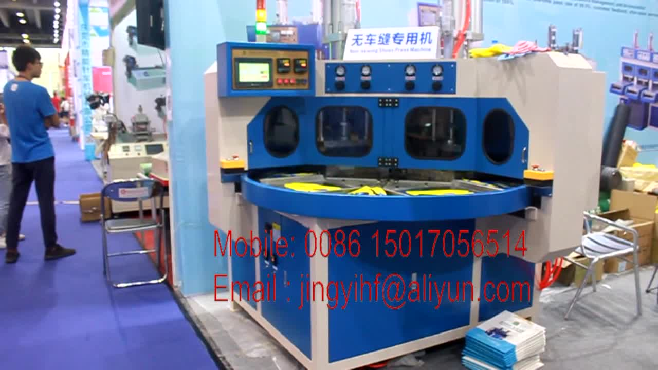 Hot Press TPU Shoes Upper Welding Machines