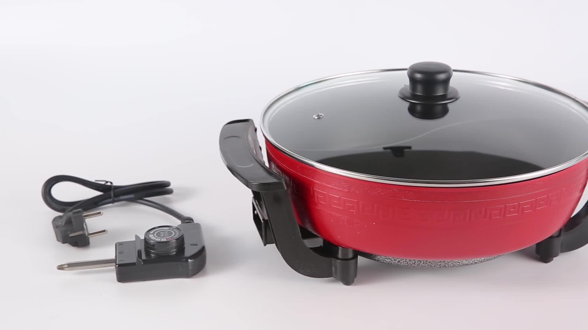 Realbei AL-6022 מיוחד עיצוב בשימוש נרחב חשמלי חם תעשייתי חשמלי מחבת