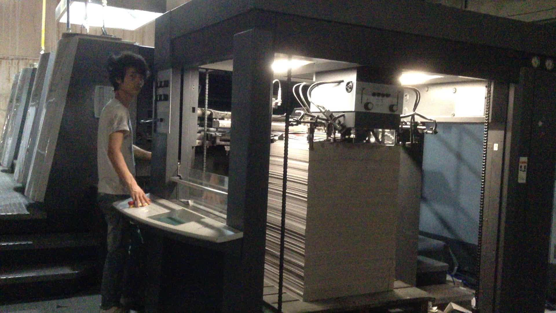 personalizzati riciclato spedizione ondulato scatola di cartone con stampa a colori