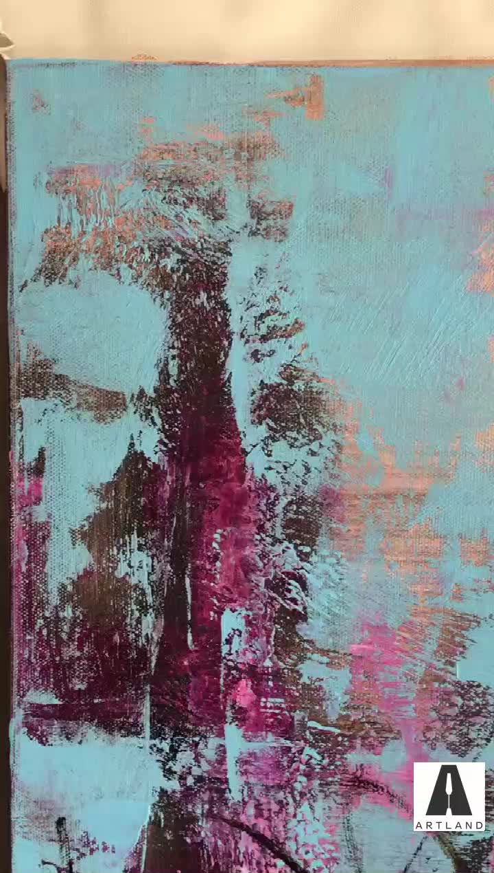 Hand painted high quality modern abstract canvas oil painting for sale