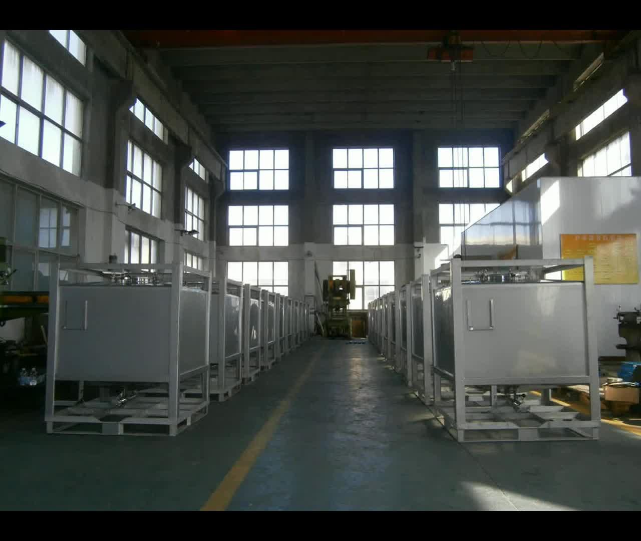 Высокое качество 1000L куб IBC сливной штуцер контейнер