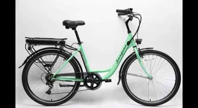 """2020 Super Chaud 26 """"vélo de ville électrique en Haute Couture"""