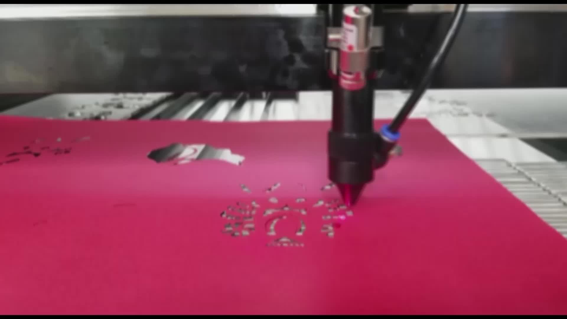 Machine laser co2 korea laser snijmachine voor plastic vel