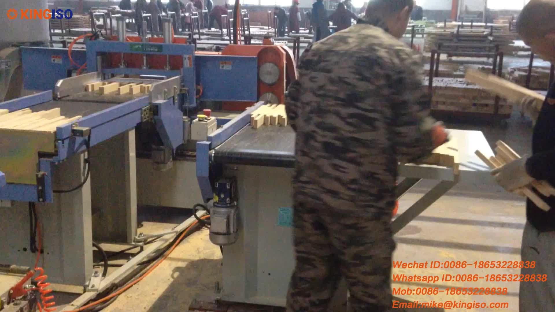 Cina Automatica Finger joint linea per il legno