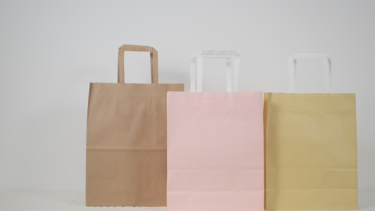 Logo personalizzato di Carta della Frutta di Protezione Eco-Friendly Shopping Bag Sacchetto Del Regalo