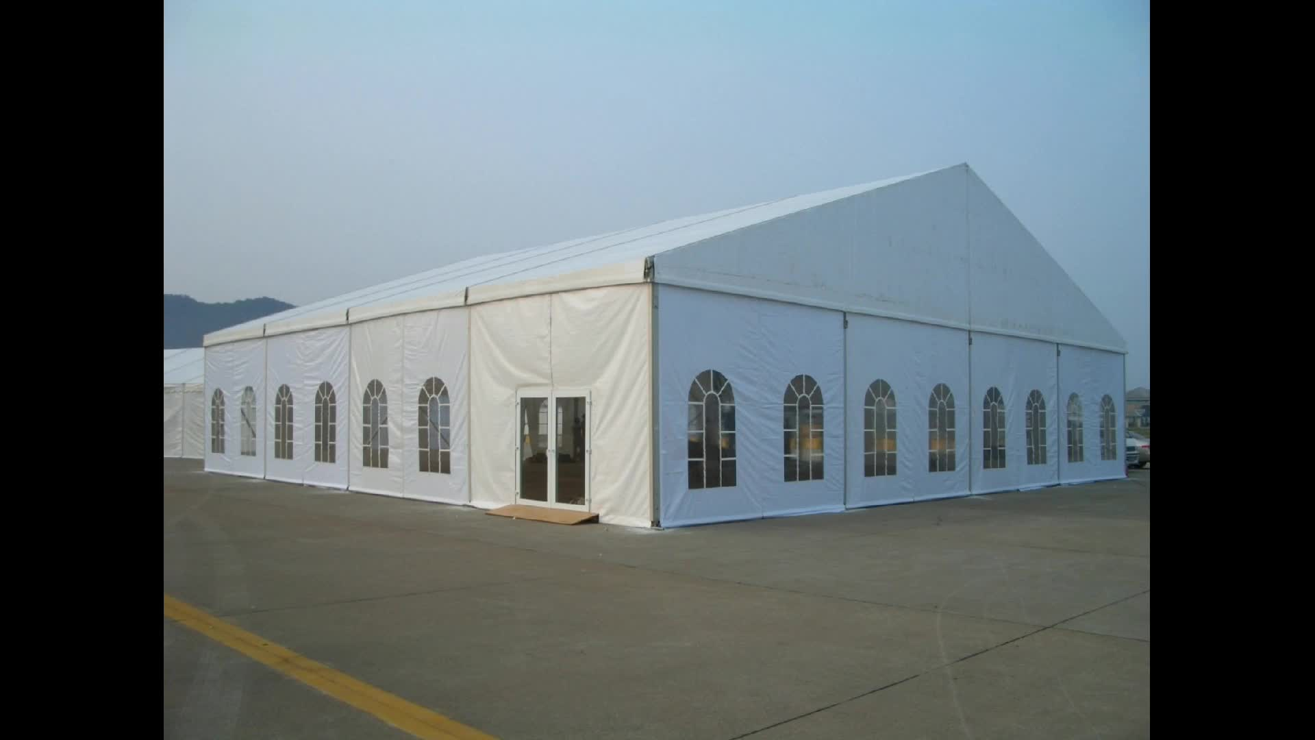 2000 Person Capacity Outdoor Waterproof large wedding tent rentals