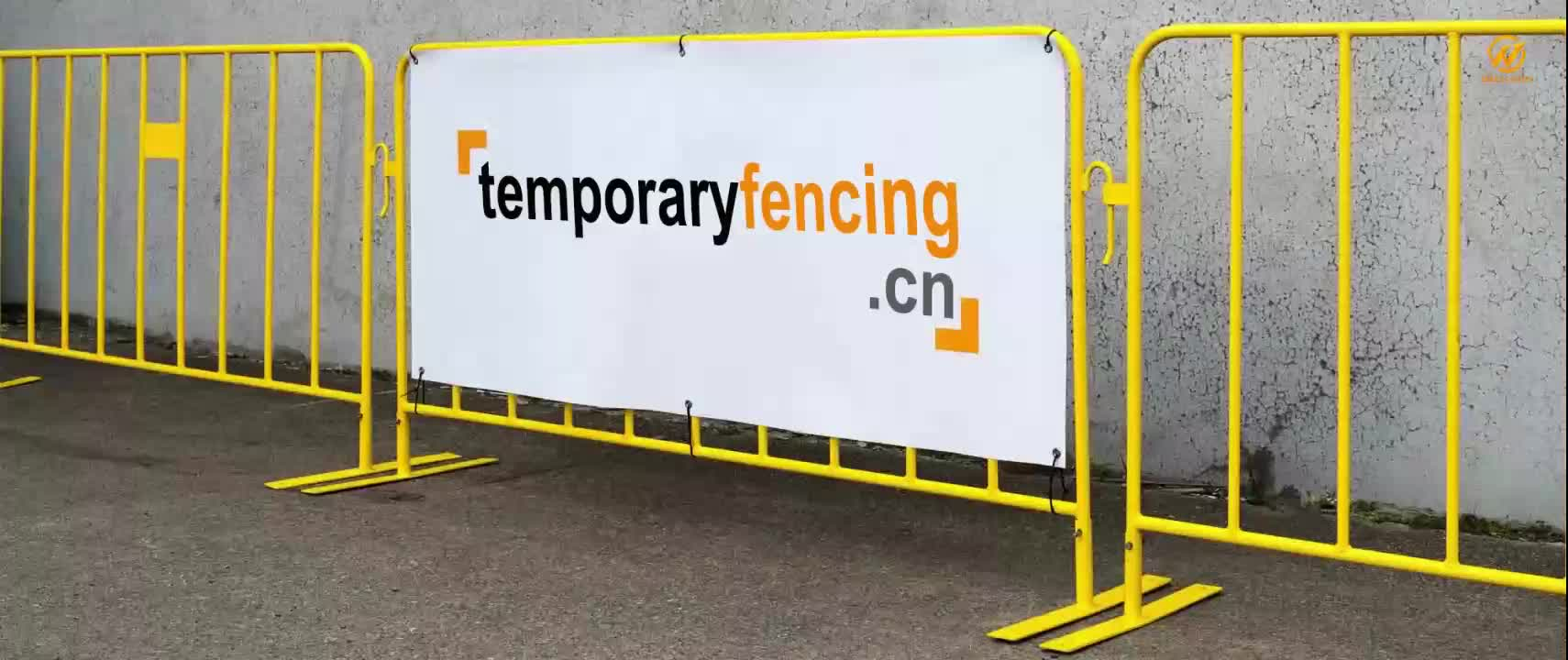 Factory Crowd Control Barriers Temporary Road Safety Fence Barrier