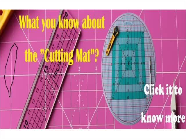 A2 Plastic Double-sided cutting mat