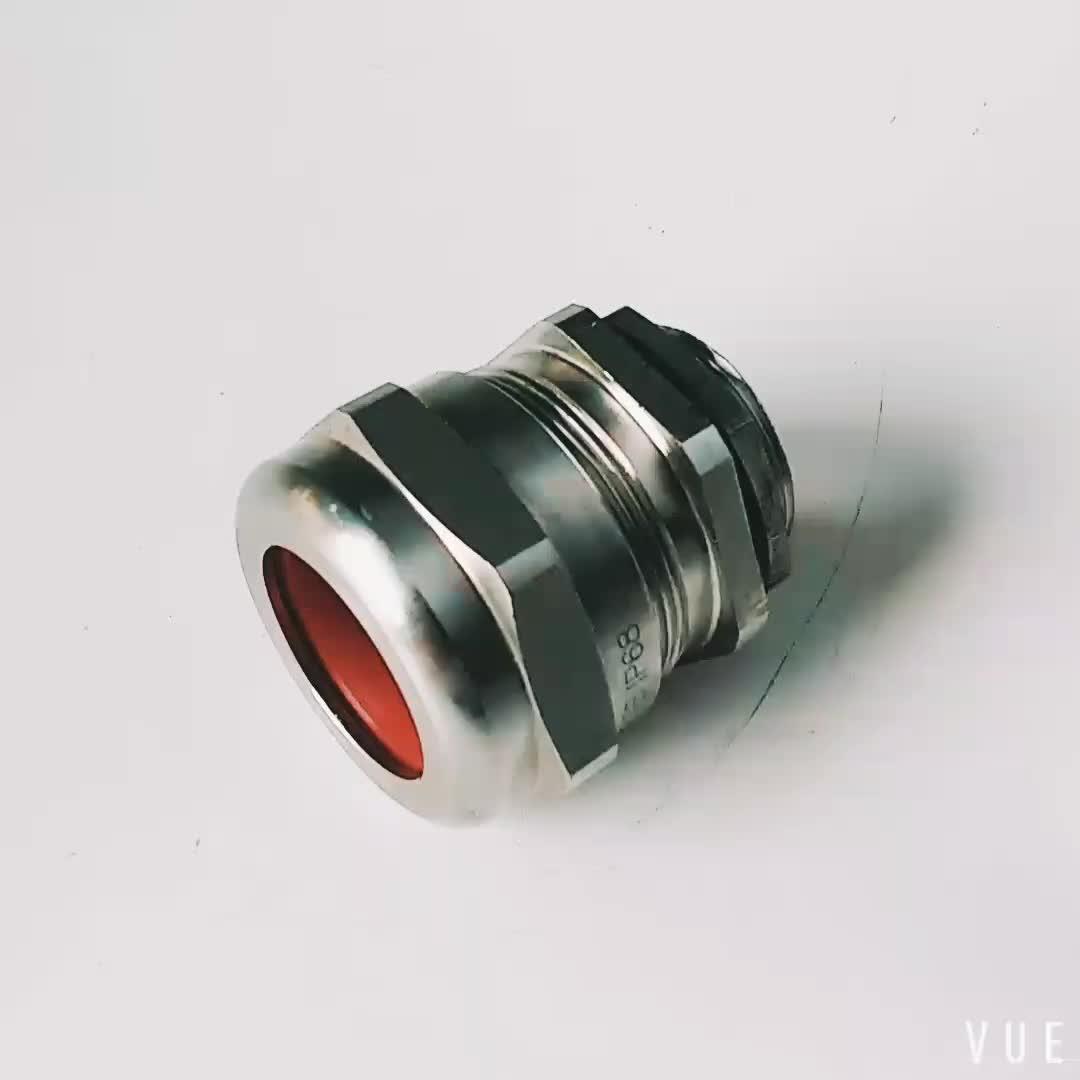 Yueqing Venta caliente simple prueba de explosión latón blindado glándula de cable