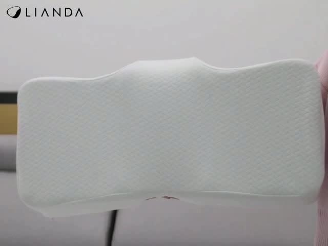 Wholesale Cheap Comfortable Polyester /Cotton Camping Custom Orthopedic Bamboo Ergonomic Head Memory Foam Pillow
