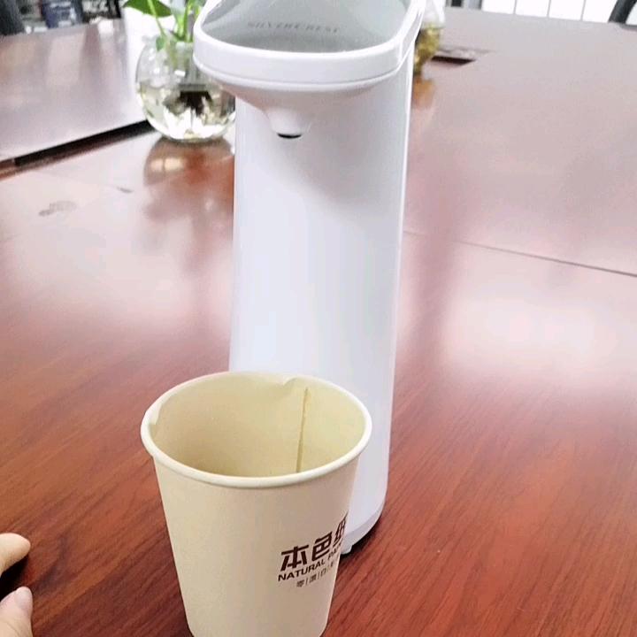 독특한 제품 2019 흰색 유용한 아크릴 비누 디스펜서 250ml 홈