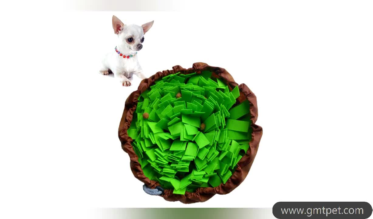 OEM PVC Factory Sales Dog Play Mat Toy Colorful Design Stress Release Dog Snuffle Mat