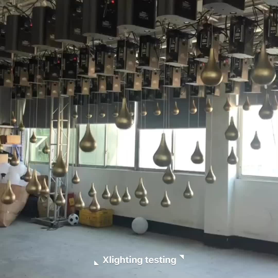 2019 wedding decoration dmx kinetic lighting system led disco ball