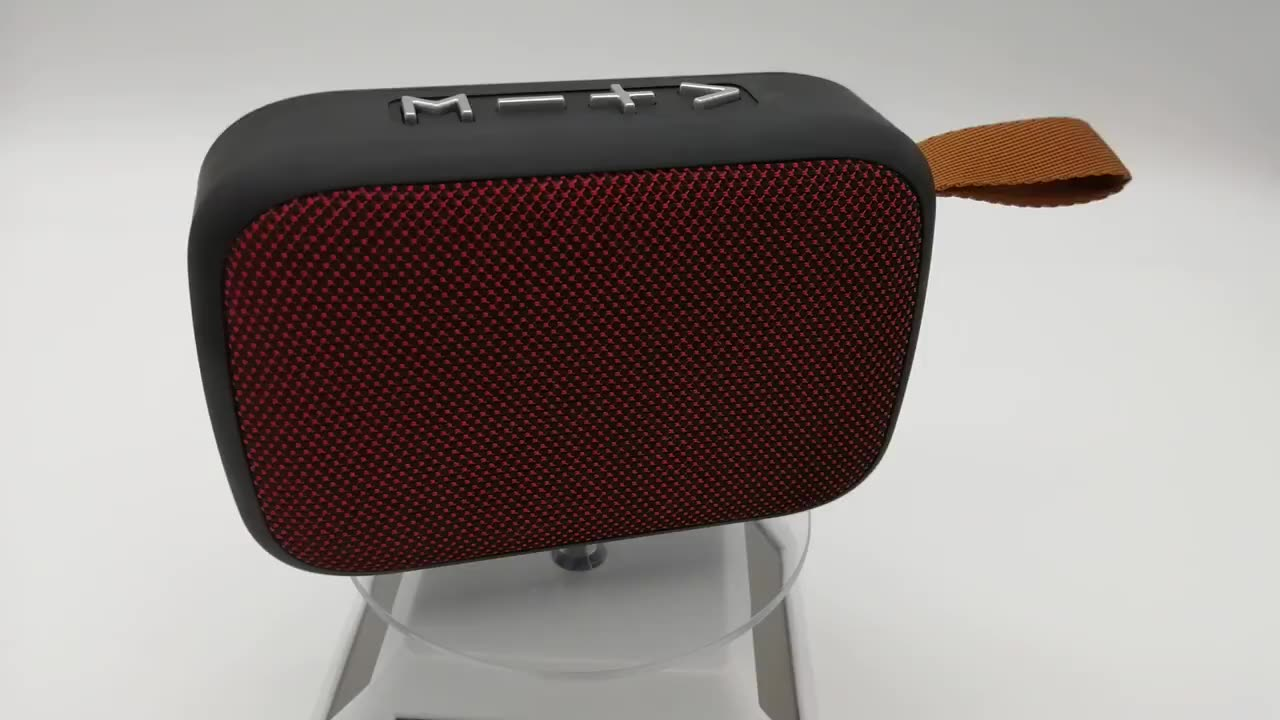 China 2020 export OEM ODM factory price mini fabric speaker for home