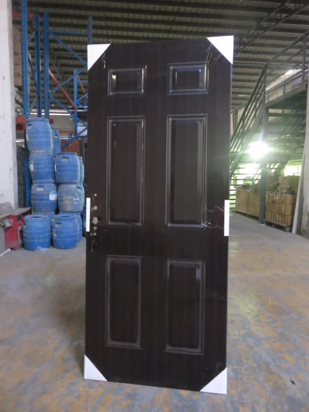 2015 HOTTEST cheap price pvc flush steel door price used for sale