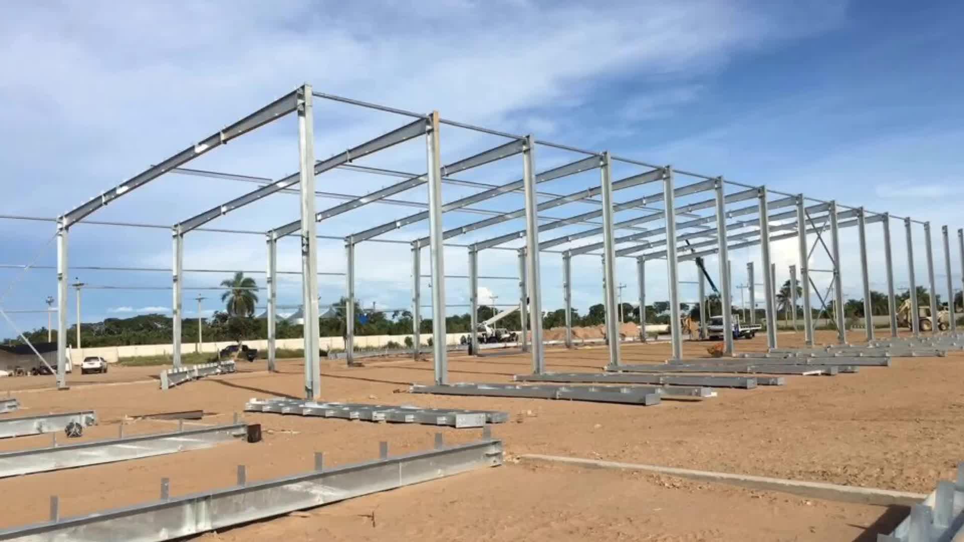 Fabrika malzemeleri prefabrik çelik bina prefabrik yapı çelik yapı metal çelik yapı